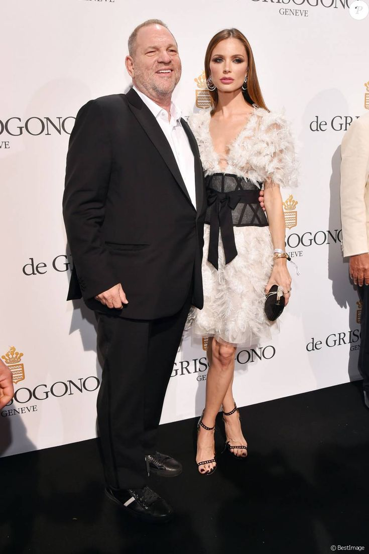 Harvey Weinstein et sa femme Georgina Chapman - Photocall de la soirée de Grisogono à l'hôtel Eden Roc au Cap d'Antibes lors du 69e Festival international du film de Cannes, le 17 mai 2016. © Jacovides-Borde-Bébert/Bestimage
