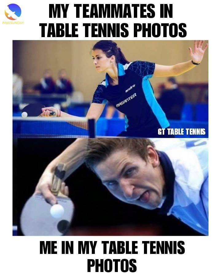 Best Table Tennis Jokes Funny Memes Pingsunday Table Tennis Funny Jokes Tennis