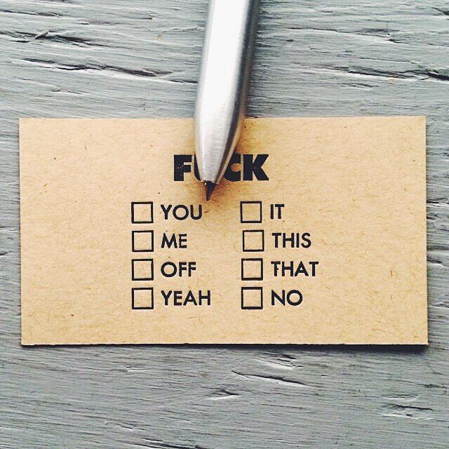 Sometimes you need this card #dcnlifestyle