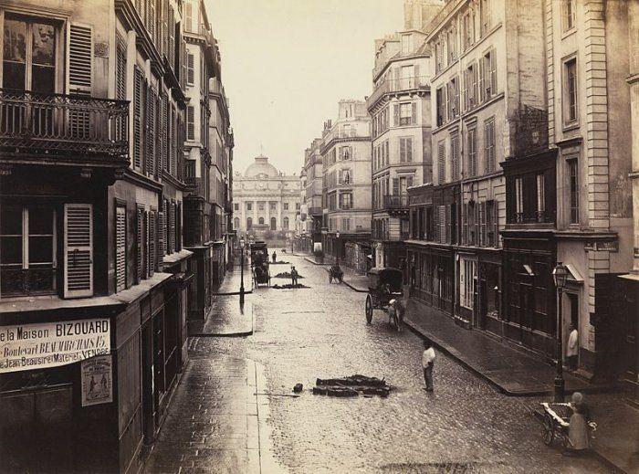 Parigi alle porte della modernità negli scatti di #CharlesMarville