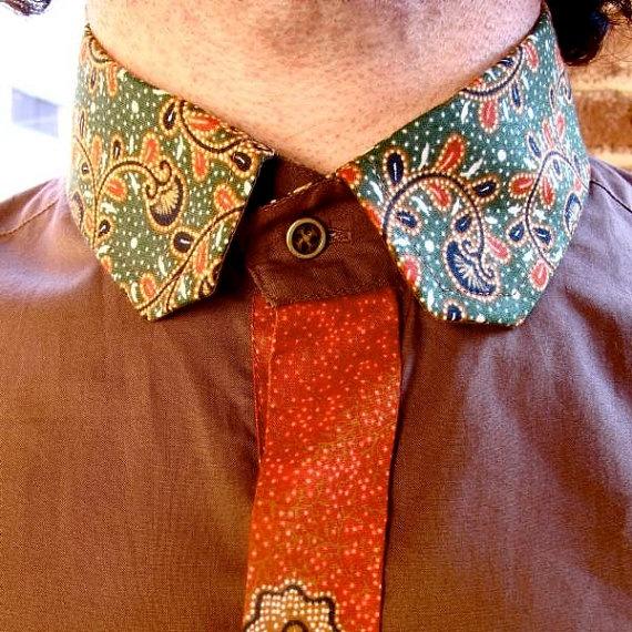 Thaï fabric... Akar Shirt