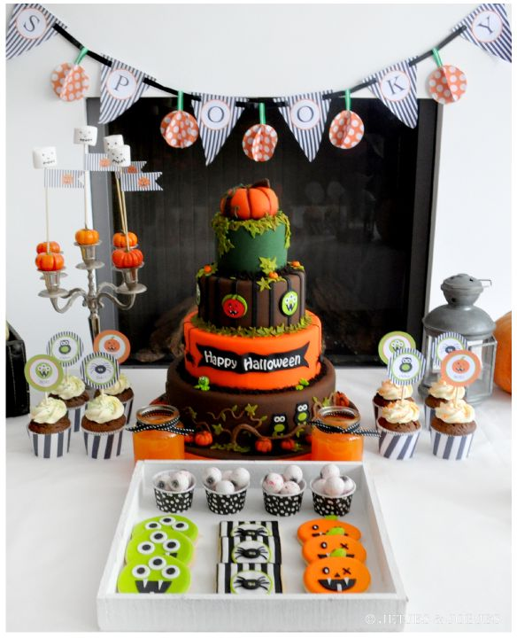 Halloween-dessert-table by Jetjes & Jobjes - Traktaartie