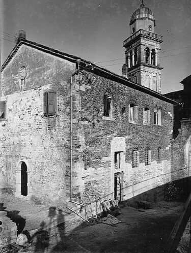 1930 Casa della Confraternita in Castello a Udine