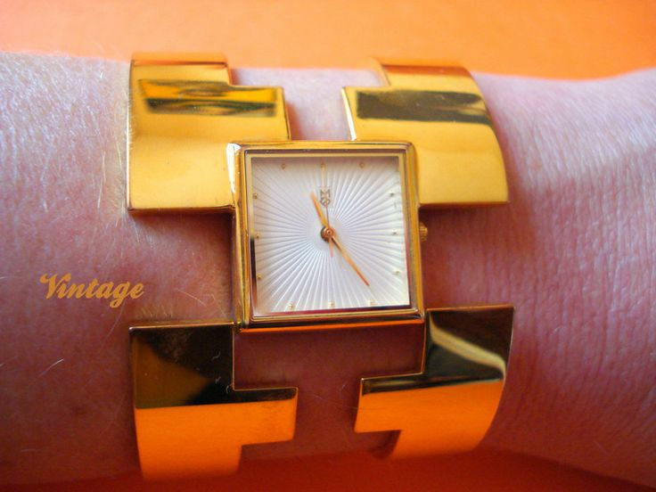 "VTG Bracciale orologio ""THE FRANKLIN MINT "" di Nina Vintage su DaWanda.com"