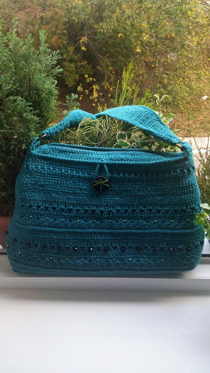 "handmade by -Katarinka- /  ""libellula"" / háčkovaná kabelka - borsetta all´uncinetto - crocheted bag"