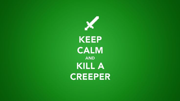 How is that keeping calm when you're killing something that can immediately just blow up in your face if you don't kill it quick enough