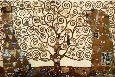 グスタフ・クリムト 生命の樹 - ストクレット・フリーツェ アートプリント | Sumally