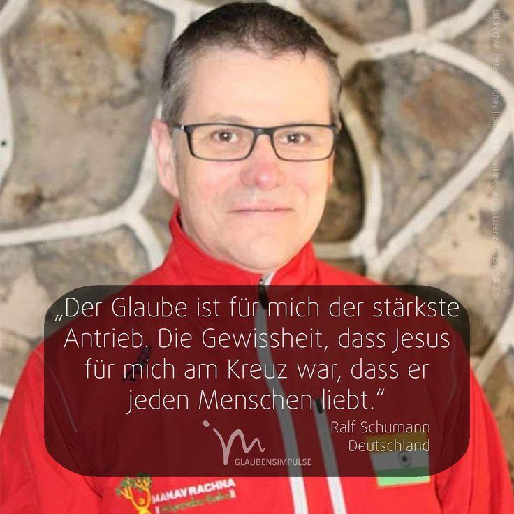 """OLYMPIA-IMPULS (10/17) Jeden Tag ein neuer Star.  """"Der Glaube ist für mich der stärkste Antrieb. Die Gewissheit, dass Jesus für mich am Kreuz war, dass er jeden Menschen liebt."""" Ralf Schumann (Deutschland)  #olympiaimpulse #sport #glaubensimpulse #im #rio #brasil #brasilien #ralfschumann #schumann #deutschland #germany"""
