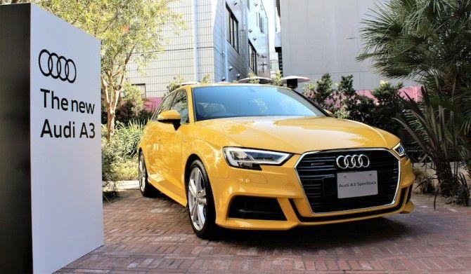 アウディA3S3を大幅改良Audi