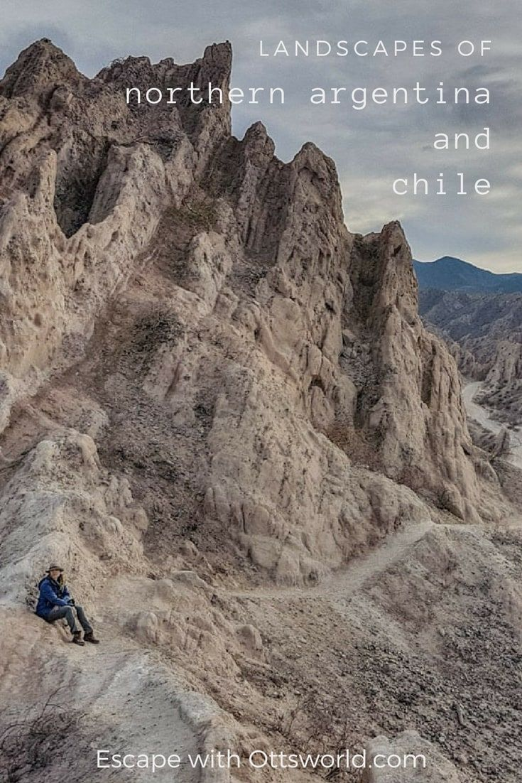 Northern Argentina and Chile - a Region Not to Miss Just opposite of Patagonia at the far northern reaches of Argentina and Chile lays an incredibly beautiful mountainous region and deserts you must see! via @Ottsworld