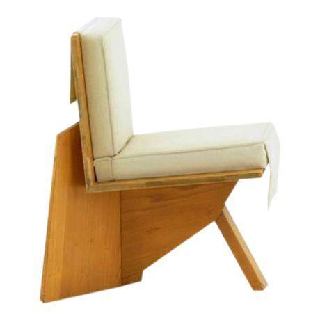 Image of Frank Lloyd Wright Chair from the Sondern House, Kansas City, MO, 1938