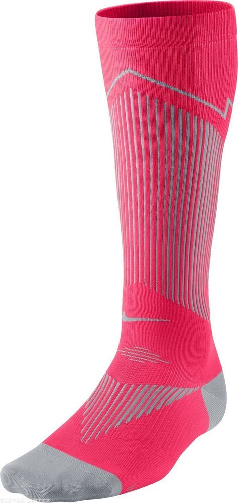Nike Elite Compression OTC Running Socks SX4886 600 4 - 5.5 Men 5.5- 7 Womens