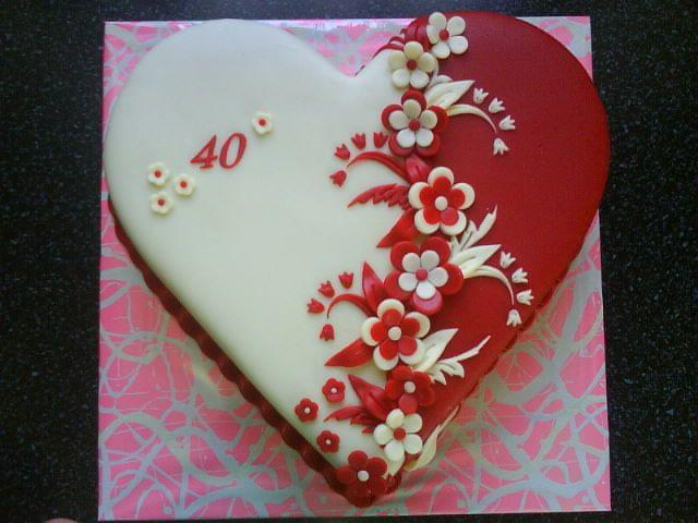 ** Dort - srdce k narozeninám **