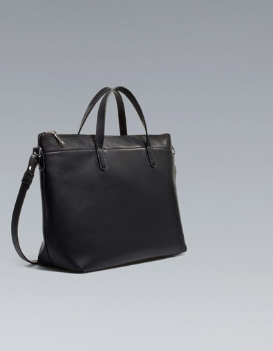 BASIC SHOPPER - Handbags - Woman - ZARA United States