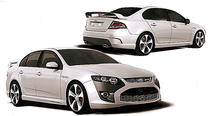 2013 Ford Falcon is likely to be Front Wheel Drive...love this