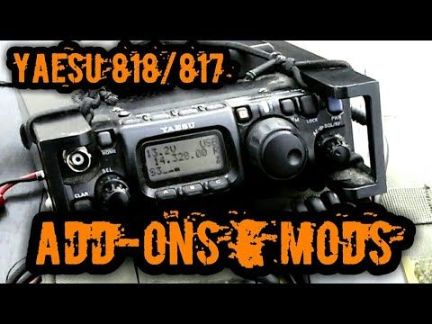 Yaesu FT-818 FT-817 Portable Gear & Mods Overview - YouTube