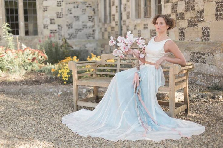 I'm so proud to showcase this incredibly beautiful styled bridal editorial on the blog today. It is breathtakingly pretty IMO. Full of blush, copper and rose gold details, with a dash of powder blue - it might just be the perfect wedding inspiration!    The thing I'm the most obsessed with though in this 'Natural Elements' wedding shoot, is the magnolia and cherry blossom twig bouquet. It's AMAZING and I've never seen anything like it...    Words and images by Jessica Davies Photography.