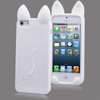 Cute Cat Style Silicone iPhone Case