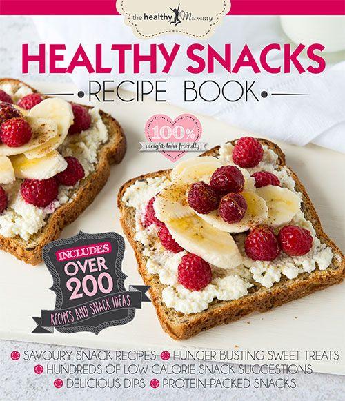 Healthy Snacks Recipe Book | The Healthy Mummy
