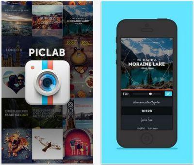 PicLab te permite agregar texto y máscaras a tus fotos