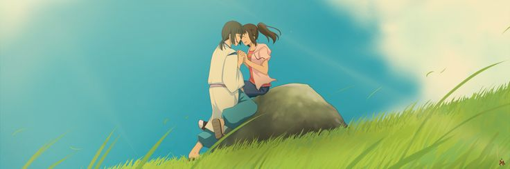 We'll meet again, right Haku? by =KurohaAi on deviantART le sigh, Spirited Away is the only Studio Ghibli movie i REALLY wish has a sequel