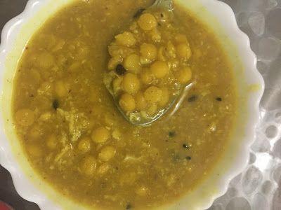 Trisha's Rasoi: Chana dal in bengali style