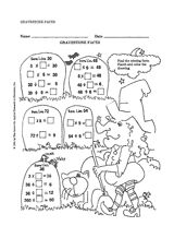 Provide #Halloween math practice with this worksheet