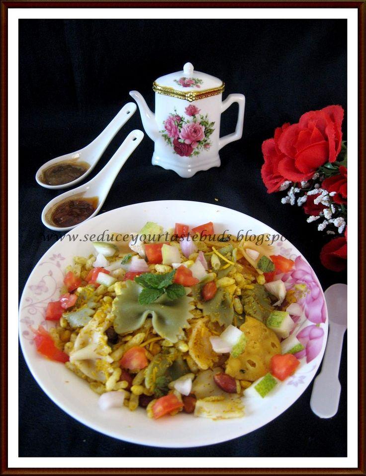 An Indian Italian Fusion - Italian Bhel Puri Salad...