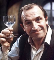 Rising Damp. Rupert Rigsby (Leonard Rossiter). Image credit: Yorkshire Television.