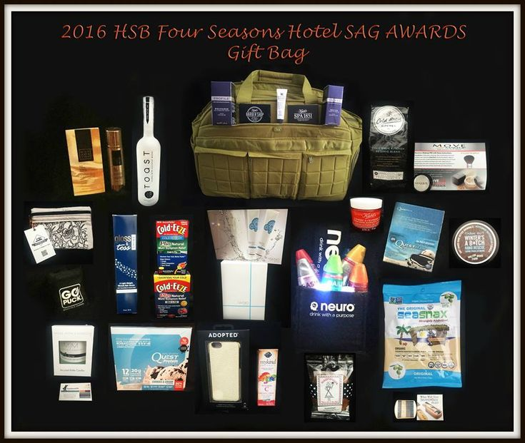 What's In the Gift Bags at the 2018 SAG Awards ...