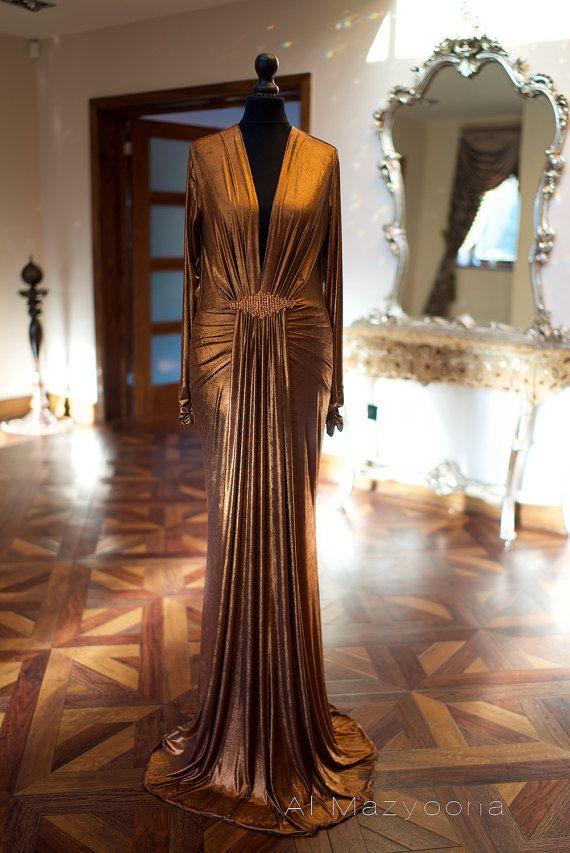 Al Mazyoona Haute Couture luxe fête soirée robe robe Dubaï