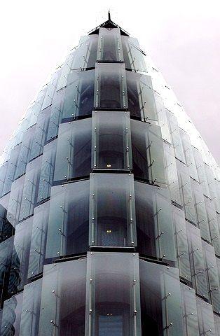 Greater Paris, Galeo tower, Bouygues Headquarters, building designed by the architect Christian de Portzamparc, Issy-les-Moulineaux
