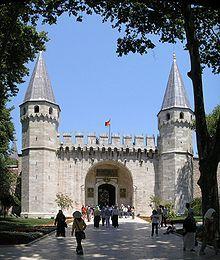 Topkapı palace (Turkish : Topkapı Sarayı ) Istanbul - Wikipédia