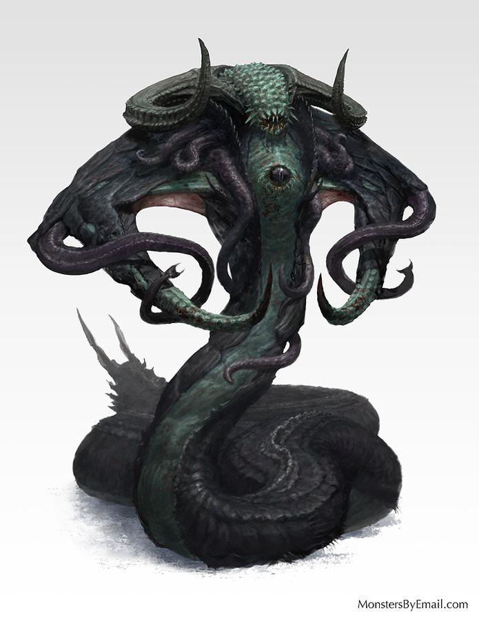 Nharmyth - Creature concept