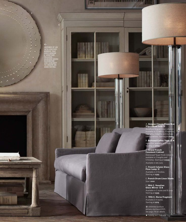 78 Best Restoration Hardware House Images On Pinterest