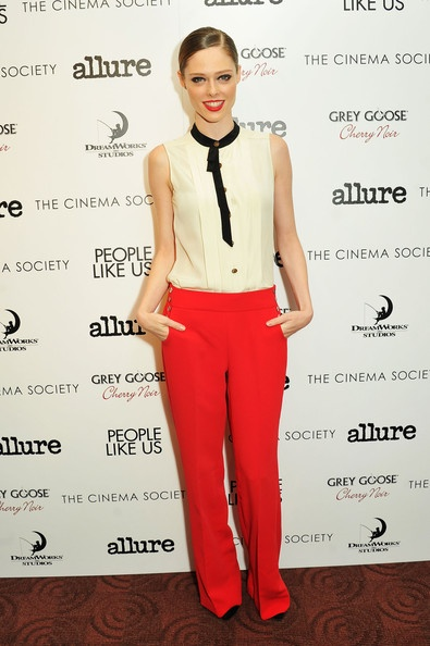 """Coco Rocha Photo - The Cinema Society With Linda Wells & Allure Host A Screening Of DreamWorks Studios' """"People Like Us"""" -  Arrivals"""