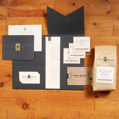 corporate branding presentation folder