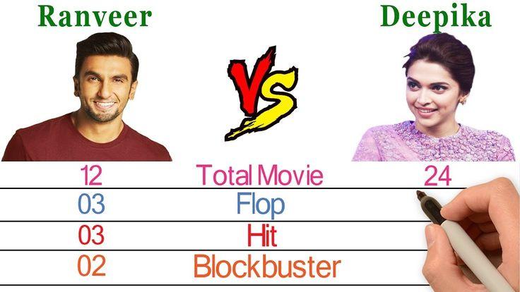 Ranveer Singh Vs Deepika Padukone Comparison - Who is More ...
