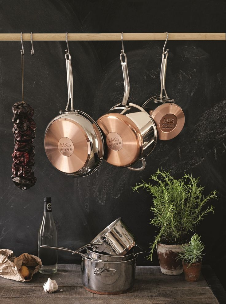 Ensure your kitchen is full equipped (copper bottomed pots are a must!)