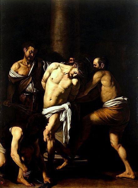 Caravaggio - Flagelação de Cristo, 1607, Reggia di Capodimonte
