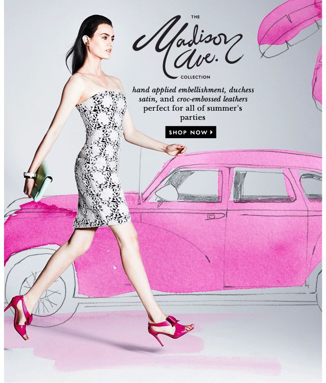 #newsletter Kate Spade 06.2014 the cure for the common summer dress…