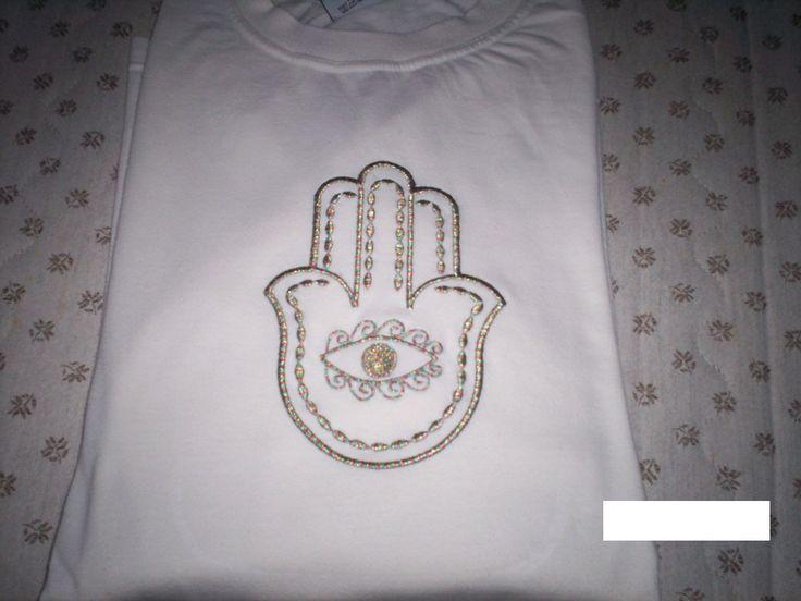 T-shirt mit Indienmotiv