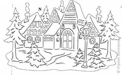 Вытынанки, шаблоны, трафареты - Поделки: дача, сад, огород, для детей