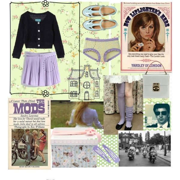 BABY by janislovepinups on Polyvore featuring moda, Uniqlo, ASOS and Louis Vuitton
