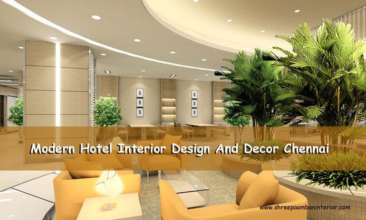 We are Designing all kinds of Hotel interior designs with greatest hotes. #ModernHotelInteriorDesignAndDecorChennai #ShreePaambanInterior