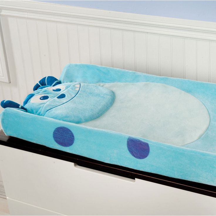MONSTERS, INC. Premier Plush Changing Pad Cover