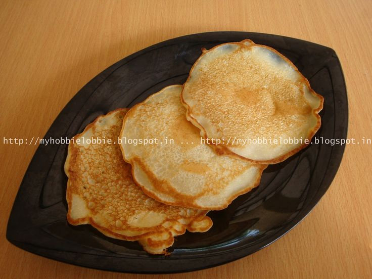 Almost Vegan Pancakes