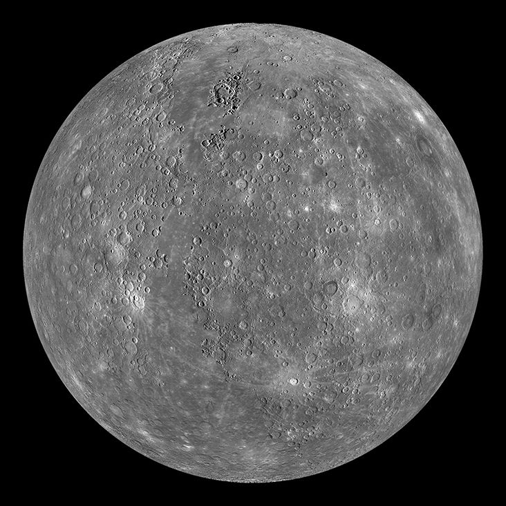 Mercury, the closest planet to the sun, has been studied by multiple spacecraft throughout the years.