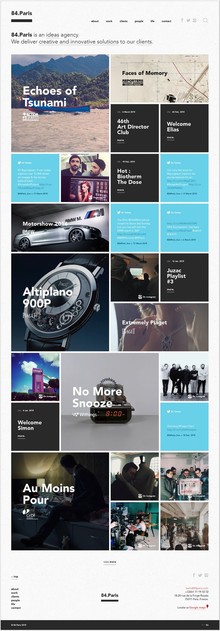 12 best website layout images on Pinterest | Graph design, Editorial ...