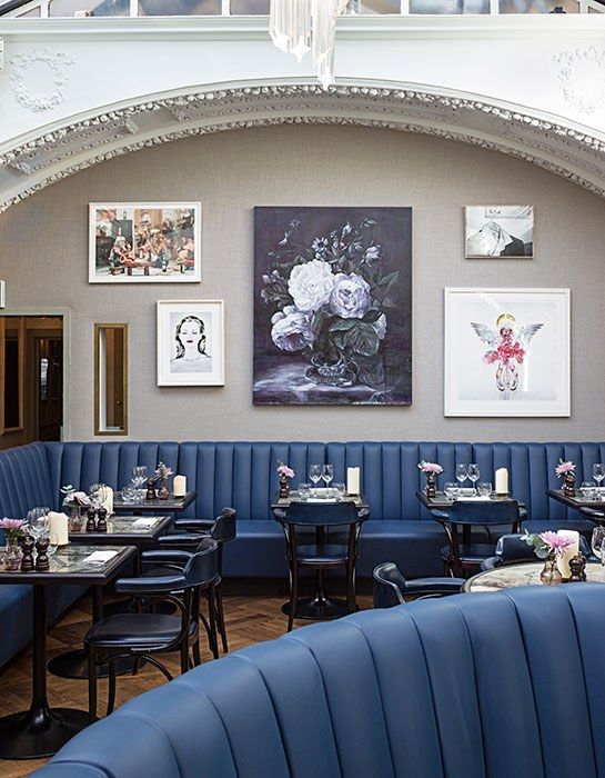 The Groucho Club in Soho—the scene of many of the city's most glamorous dinners and late nights since opening its doors in 1985—revealed a complete overhaul by London-based architecture and design practice Michaelis Boyd Associates. 45 Dean Street; thegrouchoclub.com